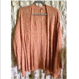 Free People ✨ Oversize Crochet Cardigan S/P